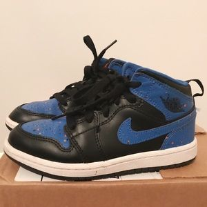 Nike Air Jordan AJ 1 Mid Boys Sneakers